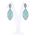 Sky Blue Colour Bead Earrings