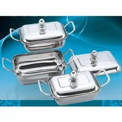 Galaxy Stainless Steel Buffet Set