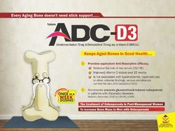 Adc D3 (Alendronic Acid & Colecalciferol Tablet)