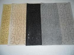 Custom Made Sequin Embroidery Handmade Papers