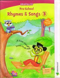 Grafalco Pre School Rhymes and Songs Book B With VCD