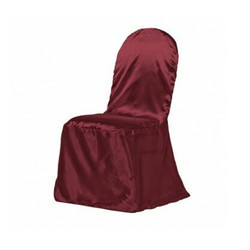 Maroon Wedding Chair Cover