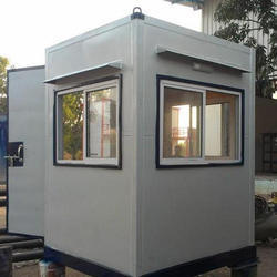 PVC Double Side Paneling Security Cabin