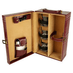 Red Wine Croco - 03 Travel Bar Set