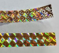 Holographic Security Prism Void Tape
