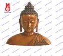 Lord Buddha Bust W/ Shawl Statue