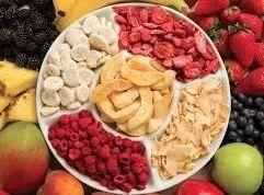 Freeze Dried Fruit Flakes / Cubes