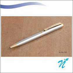 Satin Finish Pen With Golden Parts