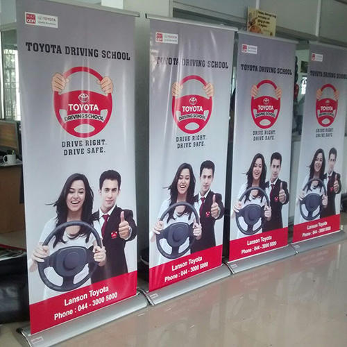 Luxury Pull Up Banner Stand