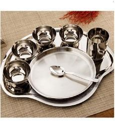 Mickey Thali Plate & Indian Dinner Thali Sets - Mickey Thali Plate Manufacturer from Chennai