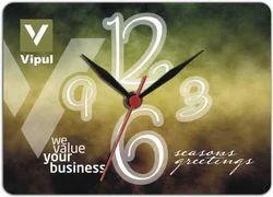 HBC-1611B Wooden Hanging Clock