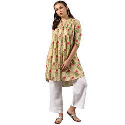 Ladies Cotton Casual Kurti