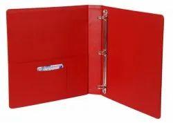 Ring Binder Red Folder