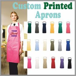 Printed Aprons