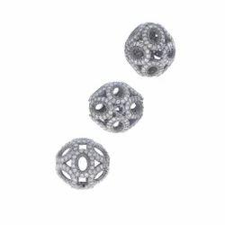 Filigree Round Beads Finding