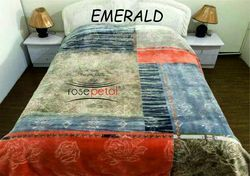 Emerald Mink Blanket (Rosepetal)