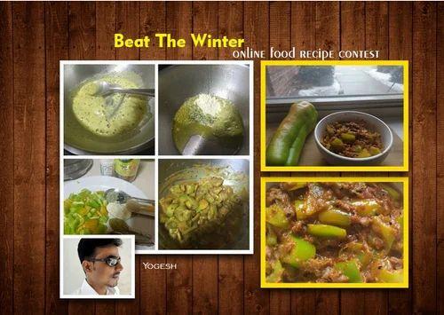 Indian veg food recipes besan wali mirchi manufacturer from kota forumfinder Choice Image