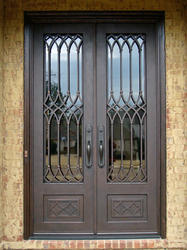 Mild Steel Door & Mild Steel Door - Manufacturer from Delhi