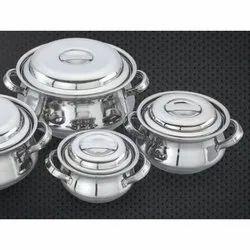 Punjabi Stainless Steel Handi Set
