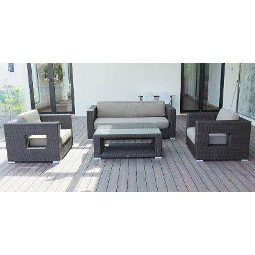Patio Outdoor Wicker Sofa Furniture