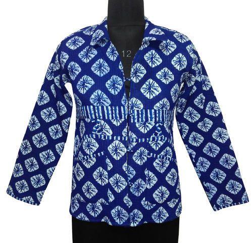 Indigo Quilting Kantha Jackets