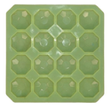 50gms - Diamond Head - 16cavities - Silicone Soap Mold.