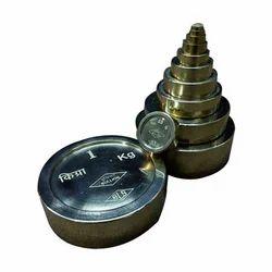 Brass Flat Cylindrical Weights
