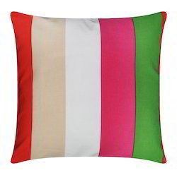Big Stripe Cotton Cushion