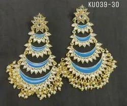 Designer Meenakari Earrings