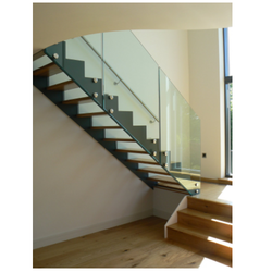 SS Glass Spiral Stairs. SS Glass Spiral Stairs