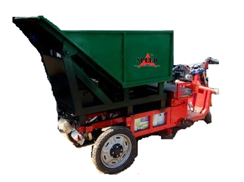 Solid Waste Management Equipments Garbage Three Wheel
