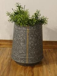 Galvanised Brass Welded Indoor- Outdoor Vertical Planter