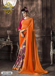 Exclusive Georgette Saree