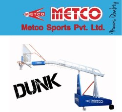 Basketball Pole Movable and Height Adjustable