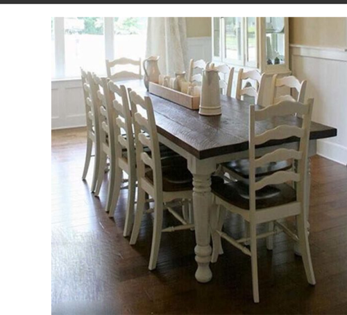 8f6f4bbffc8 Antique 8 Seater Dining Table   Antique Solid Wood Stylish 6 8 ...