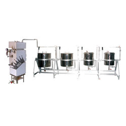 Four Vessel Steam Cooking System