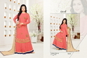 Embroidered Round Neck Moof Salwar Suit Fabric