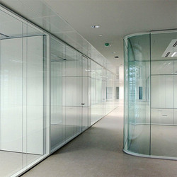 Corporate Glass Door