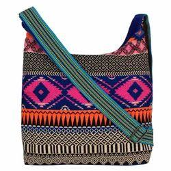 Jacquard Hobo Bag