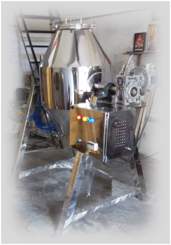 Powder Mixing Double Cone Blender