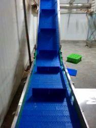 Cleated Modular Belt Conveyor
