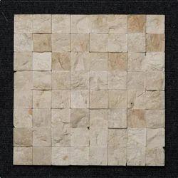 Pink Marble Block Pattern Wall Mosaic