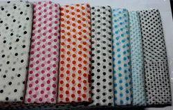Polka Dots Block Printed Fabric
