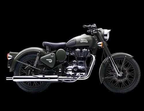 Classic Battle Green Bike & Royal Enfield Bullet 500 Bike Authorized ...