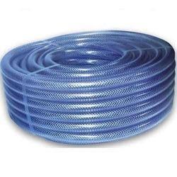 Blue PVC Braided Hose