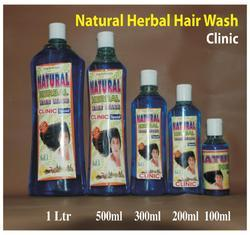 Natural Herbal Hair Wash Shampoo ( Clinic )