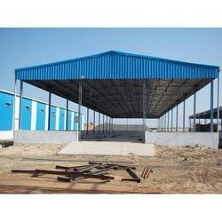 Prefabricated Fabrication Yard Industrial Sheds