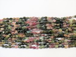 Tourmaline Oval Gemstone Beads