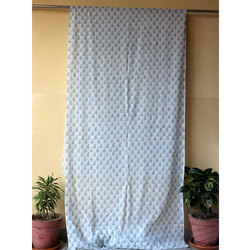 Hand Block Printed Fancy Curtain
