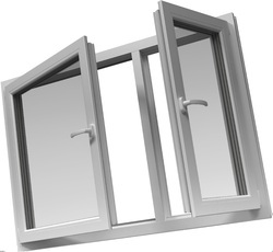 uPVC French Casement Window